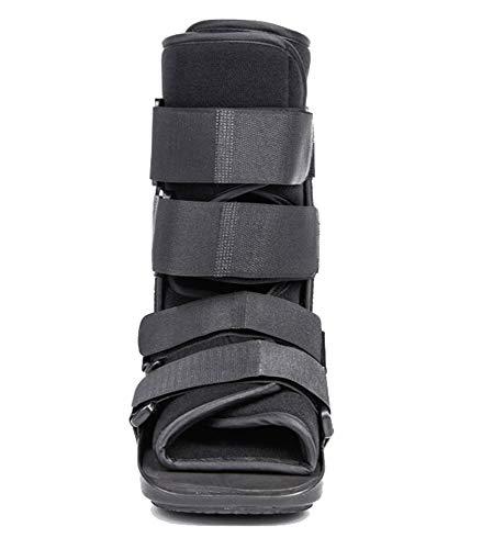 Achillessehnenstiefel, geeignet für stabile Fuß- und Sprunggelenksverstauchungen und Achillessehnenreparaturstiefel-black-L