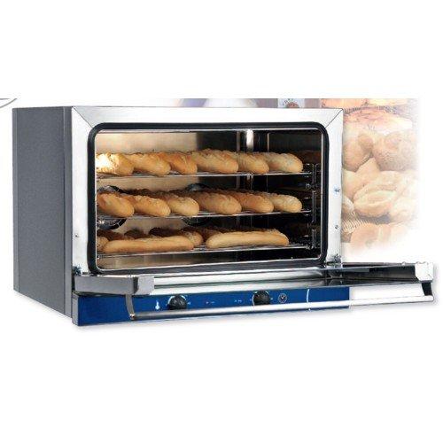 Backofen elektrische Konvektion baguette Brot Gebäck 3 Pfannen 60 x 40 RS0890