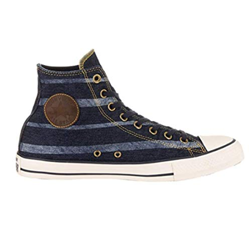 Converse - Chuck Taylor All Star Season Zapatillas altas, color Azul, talla 5.5 B(M) US Women / 3.5 D(M) US Men