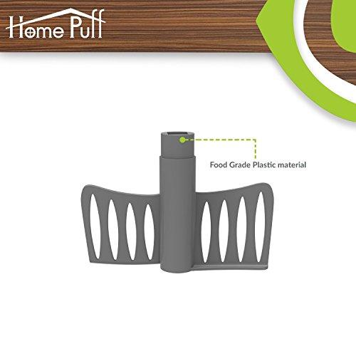 Home Puff Vegetable Chopper, Steel 3 Blade, Whipping Blade, Green (1000 ML)