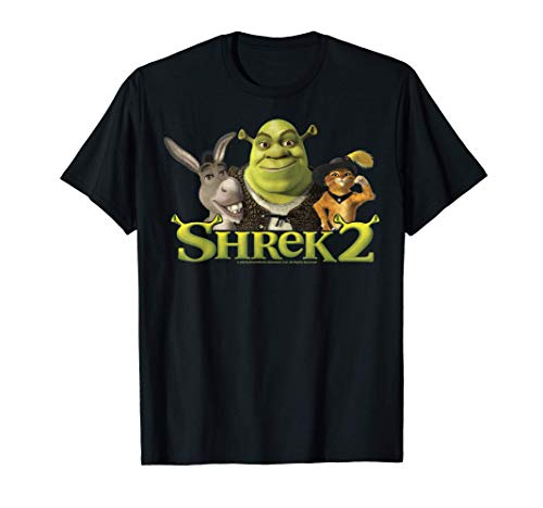 Shrek 2 Donkey & Puss In Boots Best Friends Camiseta