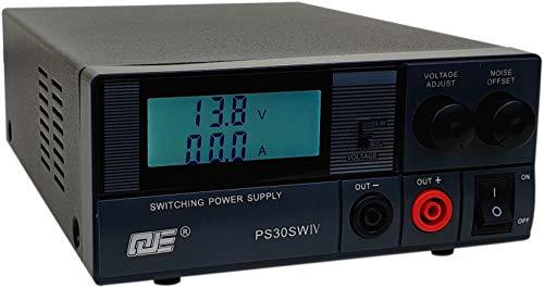 Komerci PS30SWIV Festspannungsnetzgerät 13,8V /9-15V 30A Schaltnetzteil mit regelbarem Entstörfilter Netzteil Netzgerät