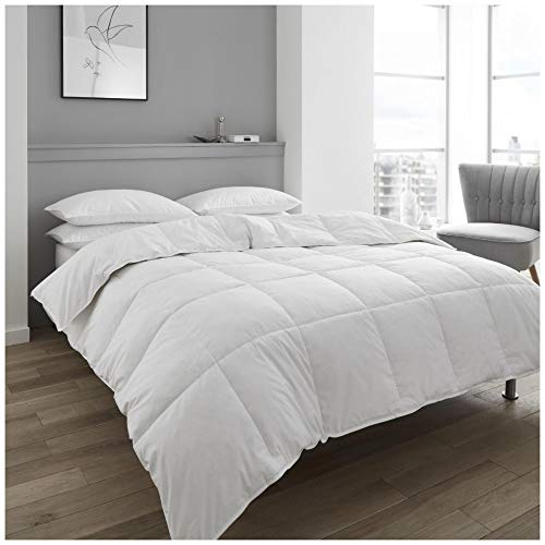 Gaveno Cavailia Luxury Hotel Quality Duck Feather & Down Duvet, Extra Warm Deluxe Quilt 13.5 TOG, Anti-Dustmite Warm & Cosy, Super-King Size