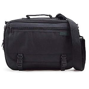 (Marib select) ビジネス ショルダーバッグ ビジネスショルダー 多機能 キャリーオン対応 B5対応 ビジネスバッグ 鞄 バッグ #c350 (ブラック)