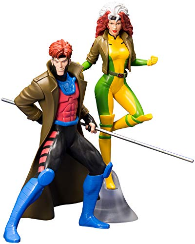 Kotobukiya ARTFX + Gumbit & Rogue 2 Pack X-Men 1/10 PVC Painted Easy Assembly Kit