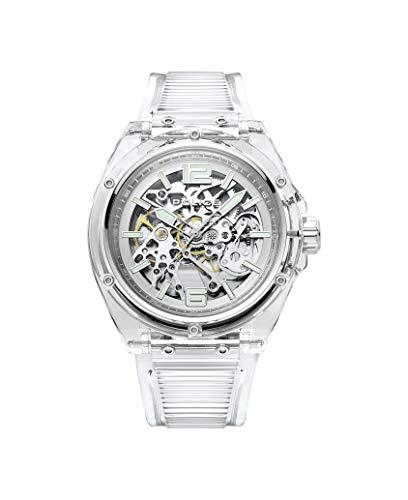 Police Herren Analog Quarz Uhr mit Kunststoff Armband PL15924JPCL.48P