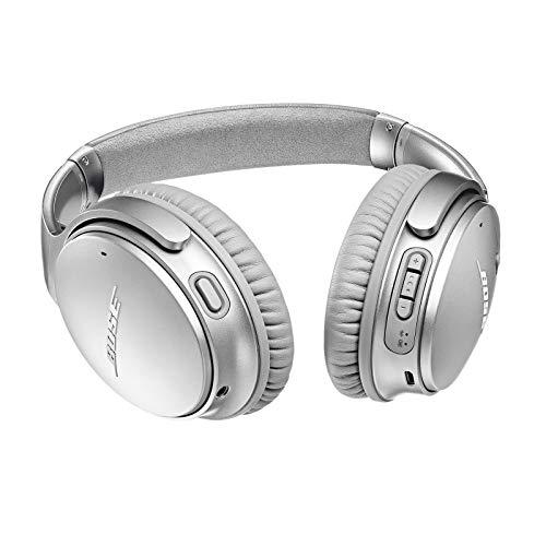 Bose 789564-0020 QuietComfort 35 II Cuffie  Wireless con Alexa integrata, Argento