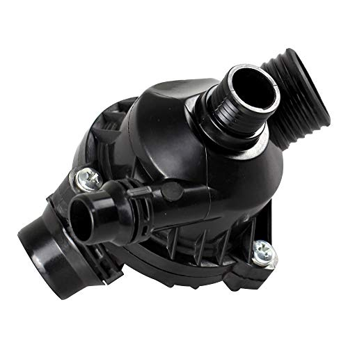 BOXI Thermostat Housing with Sensor Replacement for 2008-2013 BMW E82 E88 / 2006-2013 BMW E90 E91 E92 E93 / 2004-2010 BMW E60 E61 E83 X3 / 2003-2008 BMW E85 E86 Z4 / 2009-2016 BMW E89 Z4 / 11537536655