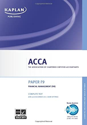ACCA F9 Financial Management Fm - Complete Text 2011