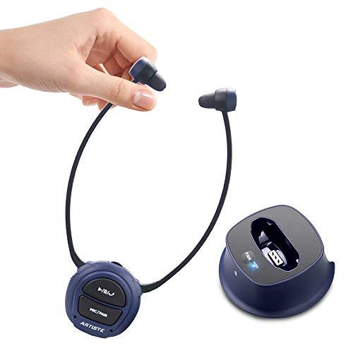 ARTISTE E3 Funkkopfhörer (Bluetooth 4,0, Optisch), Kopfhörer für Fernseher mit Bluetooth Sender (Optisch, RCA, AUX), Plug&Play, Klärung von Klängen, Keine Verzögerung