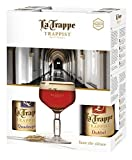 La Trappe Trappist Beer Gift Set and Glass 4 x