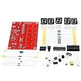 Uayasily Fréquencemètre Conseil Module DIY pour Oscillator 5 Numérique LED Affichage À Cristaux Mesure Fréquencemètre Accessoires 1hz-50mhz 1set