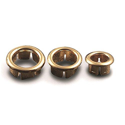 Bague de trop-plein lavabo, anneau de trou de trop-plein en plaqué ABS Diamètre mm. 19