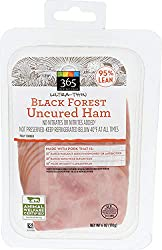 365 Everyday Value, Black Forest Uncured Ultra-Thin Ham Slices, 95% Lean, 6 oz