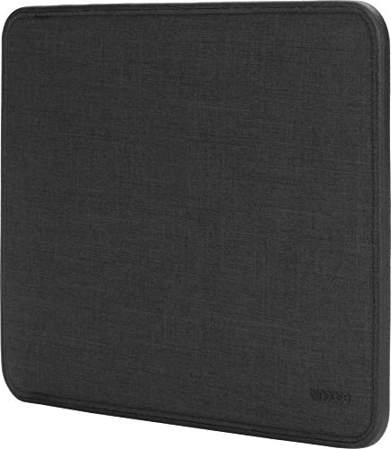Incase Tasche Icon Sleeve Hülle Apple MacBook Pro 13' (2016 - 2020) / Air 13,3' (Late 2018-Early 2020) - Dunkelgrau [Woolenex-Material I TENSAERLITE®-Bumper I Kunstfell-Interieur I Magnetverschluss]
