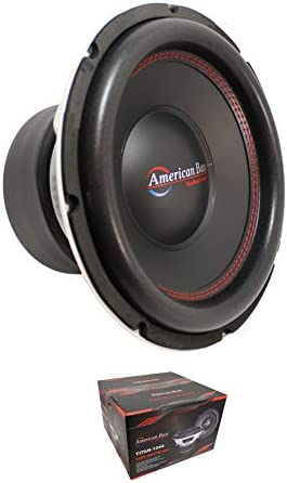 American Bass 12 1600 Watts 3 Dual 4 Ohm Voice Coil Subwoofer Titan 1244 product image
