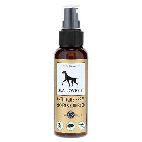 LILA LOVES IT Anti-Tique Spray Zecken & Flöhe & Co, 100 ml