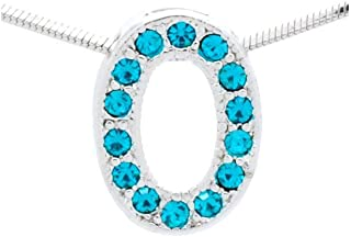 Initial Letter O Necklace