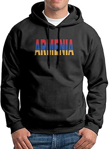 JXZO Herrenpullover Men's Armenian Flag Armenia Patterns Print Athletic Pullover Hoodies