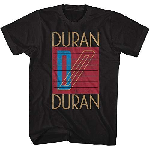Duran Duran Ragged Tiger Graphic Black T-shirt for Men, S to 3XL