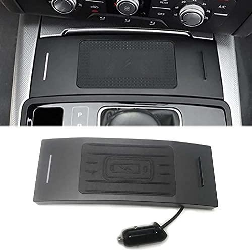 DPG Cargador Inalámbrico Qi para Coche De 10 W, Cargador De Teléfono Celular, Placa De Carga, Accesorios para Audi A6 C7 Rs6 A7 2012-2018