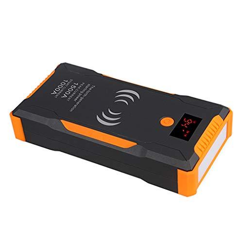 PIANAI 18000mAh Chargeur Batterie voitures/12v Booster Batterie Voiture/Booster Batterie Portable/Jump Starter Démarrage de Voiture/Démarreur de Voiture Portable,Jaune