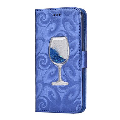 HL CASES/COVERS Belle Casse, custodie, Custodia in Pelle PU per Samsung Galaxy Case Cover per Samsung Galaxy (Colore : Blu Scuro, Modello Compatibile : Galaxy S5)