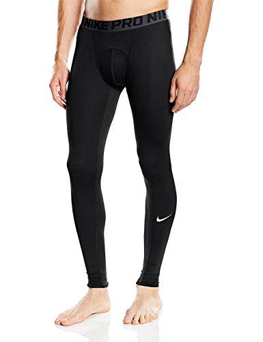 Nike Cool Tight - Mallas para hombre, Negro (Black/Dark Grey/White), M
