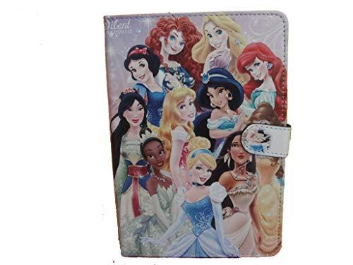 Funda para iPad Mini 1/2, 3/4 y 5 (cierre magnético), diseño de princesas de Disney, color rosa