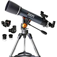 Celestron AstroMaster 102AZ Refractor Telescope with Bonus Astronomy Software Package