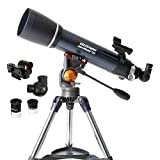 Celestron - AstroMaster 102AZ Refractor Telescope - Refractor Telescope for Beginners - Fully-Coated...