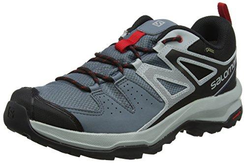 Salomon Homme X RADIANT GTX, Chaussures de Randonnée et Multifonction, Imperméable, Gris42 2/3 EU