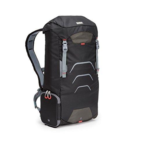 Mindshift Gear Ultralight Sprint 16 Liter Outdoor-Fotorucksack Black Magma für 1 (kleine) DSLR- oder DSLM-Kamera und Objektive