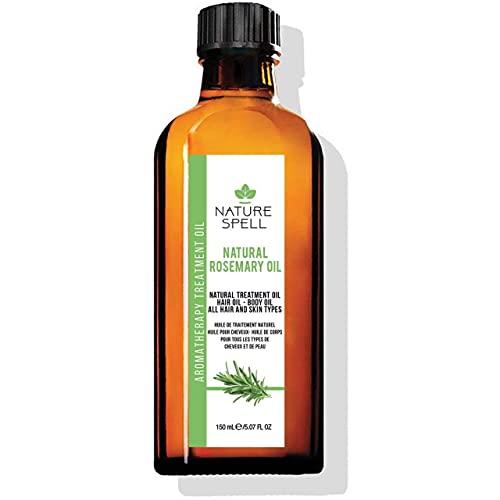 Nature Spell Aceite de tratamiento de romero para cabello y cuerpo 150ml