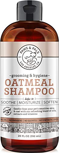 Natural Oatmeal Dog-Shampoo
