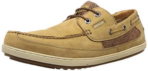 Woodland Men's 2916118 Camel Leather Sneaker-10 UK (44 EU) (11 US) (GC 2916118CAMEL)