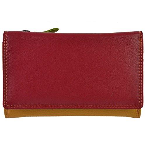 Golunski Geldbörse für Damen, dreifach faltbar, Leder, von Graffiti Gift Box Gr. One size, Spice
