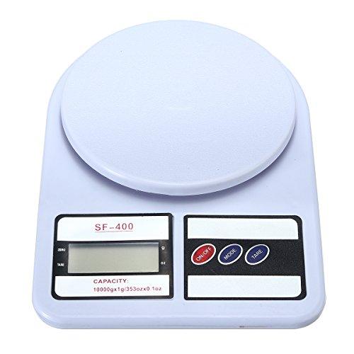 KUNSE 10 Kg/1 G Báscula Postal Electrónica Digital Paquete De Pesaje De Envío