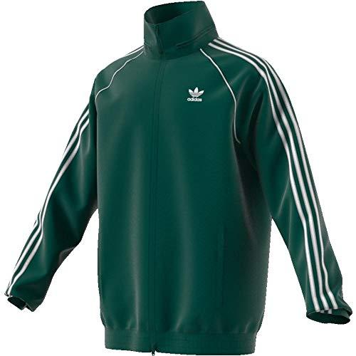 adidas SST Windbreaker Cortavientos, Hombre, Verde (veruni), L