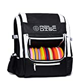 Alien Harvester Disc Golf Backpack | Large Disc Golf Bag | 20+ Disc Storage Capacity | Extra Space for Accessories | Durable | Lightweight | 2 Water Bottle Holders | DG Gear | Discs Not Included