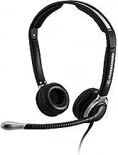 Sennheiser CC 520 Binaural Headset with Ultra Noise-Canceling Microphone (Renewed)