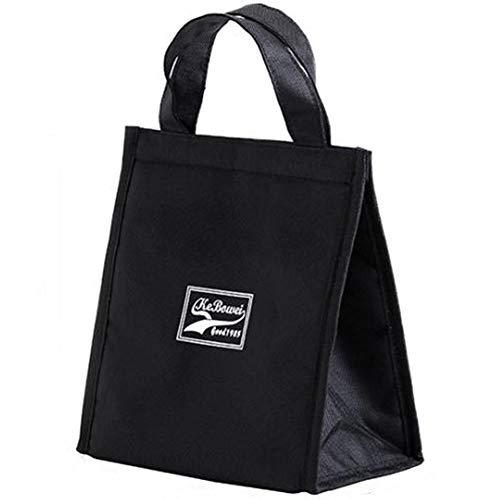 WENTS Lunch Tasche Kühltasche Lunch Tote wiederverwendbar Kühlbox Isoliertasche Mittagessen Tasche Picknicktaschen für Lebensmitteltransport Arbeit Für Männer Mädchen Kinder im Freien