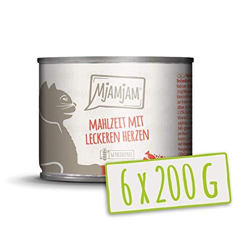 MjAMjAM - Mahlzeit mit leckeren Herzen 6 x 200 g