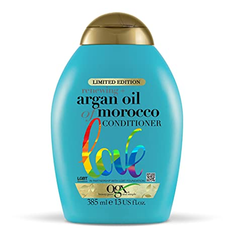 OGX Argan Oil of Morocco Hair Conditioner for Dry Damaged Hair, 385ml