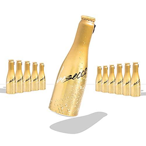 JUST BE Secco | Piccolo frizzante l Prickelnder Premium Weiss-Wein (12)