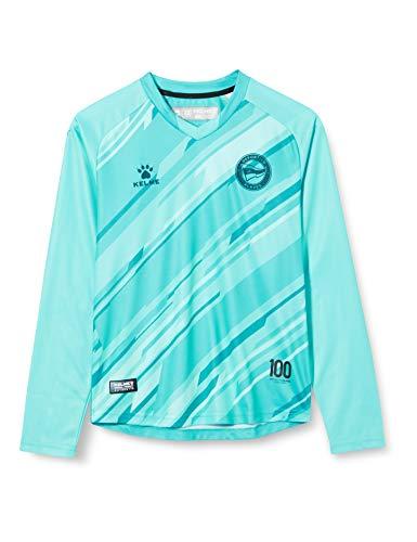 Deportivo Alavés 1ª Equipación Porteros 20/21 Camiseta, Unisex Niños, Azul, 12 (Años)