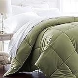 Luxury King/Cal King - 1600 Series Down Alternative, Home Bedding & Duvet Insert - Olive