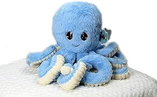 PULPIN - Octopus Plush Stuffed Animals, Doll Play Toys for Kids Girls Boys Adult Blue (MONCHIPLUSH)