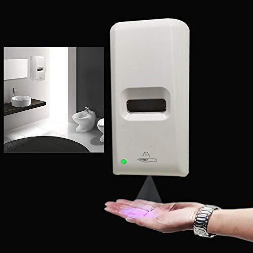 MZYKA 1L Wand- Handspritzen Desinfektion Maschine, automatische Induktion Alkohol und Desinfektion Wasserspender, für Office Home Schule, Dual-Netzteil-Design