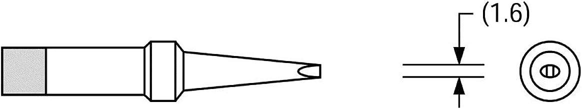 lang PT O7//Ø 0,8 mm 370 °C gerade Weller Lötspitze Serie PT Rundform